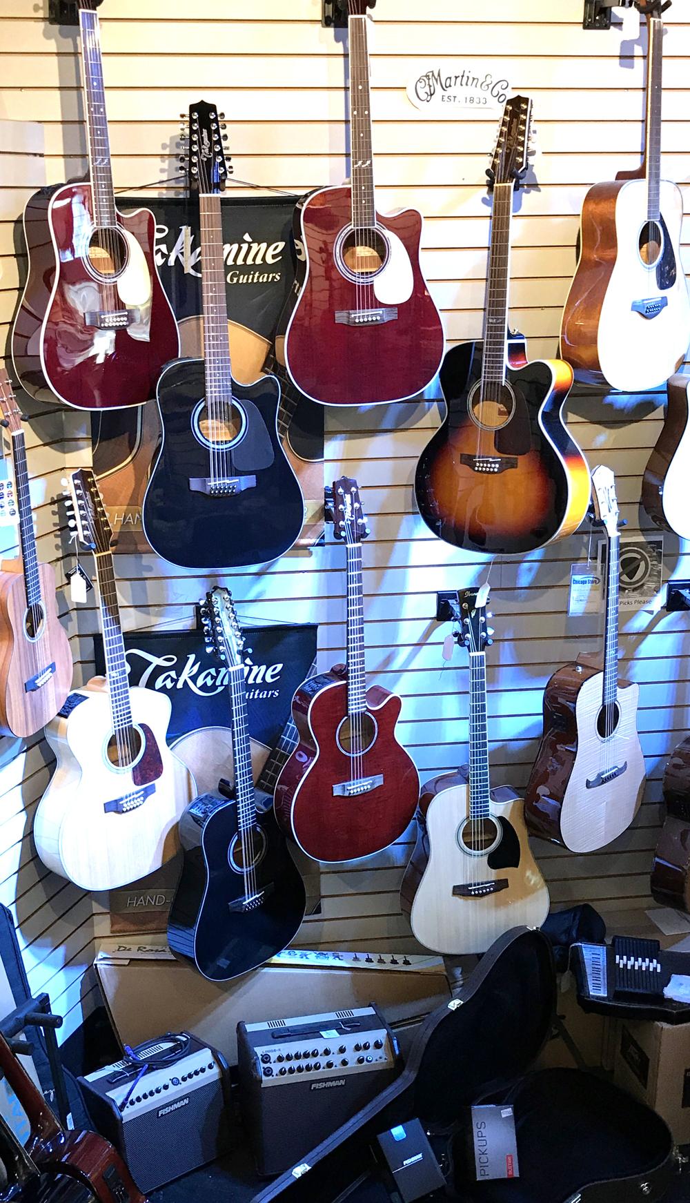 takamine guitars in stock chicago music store. Black Bedroom Furniture Sets. Home Design Ideas